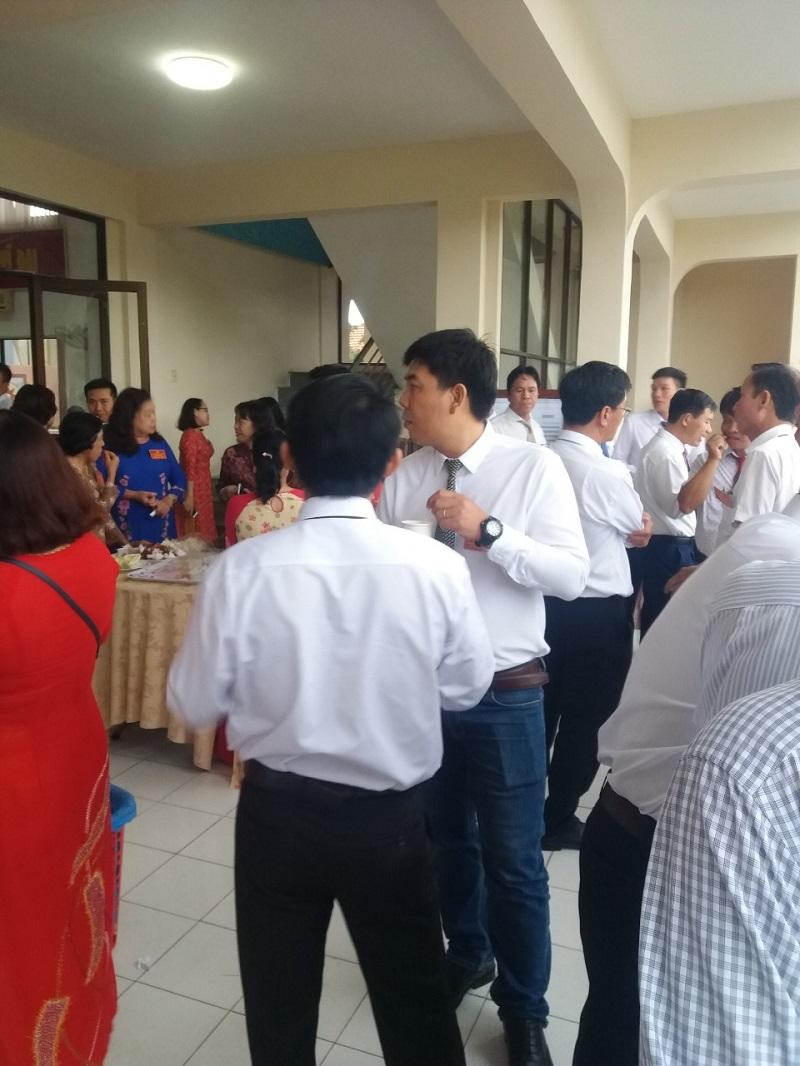 SHVT tham gia hội nghị doanh nghiệp